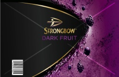 Dark Fruit Strongbow Cake Topper